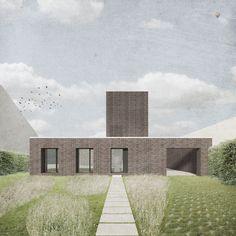 nieuwbouwwoning te Lede, Objekt Architecten