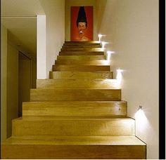 iluminaçao escada - Pesquisa Google