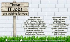 These IT Jobs are waiting for you.  We're looking for C/C++ Software Engineer, Application Support, Systems Administrator and more!   Visit our website http://sysgen.com.ph/it-job-openings-philippines/ for the complete list and job details.