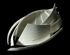 archimaps:    Model for the State Auditorium in Astana, Kazakhstan