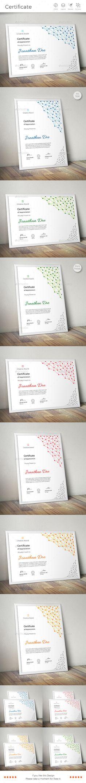 Dot Line Certificate Design ... Download Now: https://graphicriver.net/item/certificate/17839413?ref=CreativeRacer
