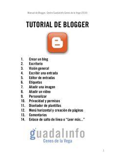 Tutorial blogger (2014)