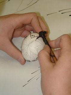 Art Lesson Plan: Pysanky Ukrainian Eggs