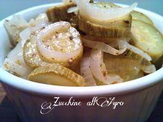 Cucinando tra le nuvole: Zucchine all' Agro