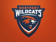 Westport WildCats by Fraser Davidson #logo | American Sport Theme Logo