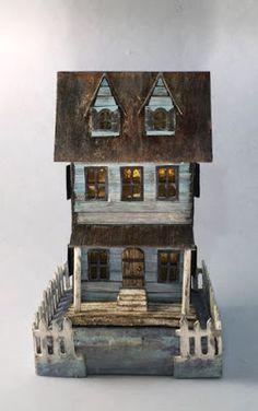With Glue and Glitter : Sea-worn Beach House
