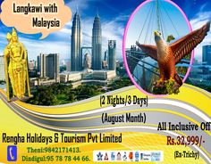 The Ultimate Family Holiday In Langkawi with Malaysia . August Month, All Inclusive, Family Holiday, Tourism, Night, Month Of August, Turismo