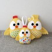 Easter chicks family - via @Craftsy