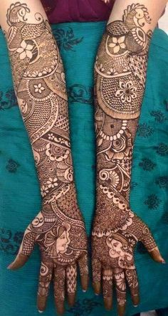 50 Most beautiful Full Hand Mehndi Design (Full Hand Henna Design) that you can apply on your Beautiful Hands and Body in daily life. Traditional Mehndi Designs, Full Hand Mehndi Designs, Wedding Mehndi Designs, Dulhan Mehndi Designs, Best Mehndi Designs, Hena Designs, Mehendi, Henna Mehndi, Arabic Mehndi