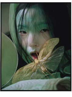 The Tim Walker for W magazine series is a brooding collection of geisha portraits. Each photograph boasts remarkable composition and rich artistic direction. Tim Walker entrances viewers with the darkly alluring photographs, evoking juxtaposed set of emotions.