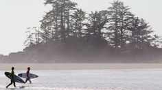 Twilight Zone or Tofino? Time in Canada's surf capital is running slower than in other places, for the time being.