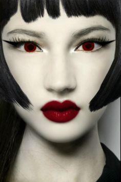makeup fashion hair face style colors vamp1967 carolyn foster photo edit face hair eyes girl woman