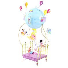 Spirited Mama's gorgeous flying magic bed mobile sourced from the heart of France.  www.spiritedmama.com