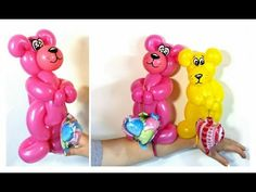 Valentines Bear Balloon Twisting How To - YouTube