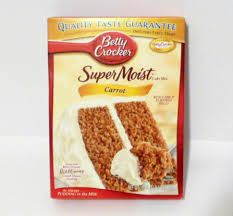 Betty Crocker Carrot Cake Mix Local Price: 4.29      Your Price:  2.65