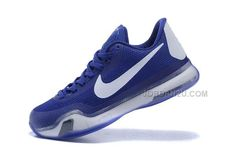http://www.jordan2u.com/kobe-10-em-low-white-blue.html Only$69.00 #KOBE 10 EM LOW WHITE BLUE Free Shipping!