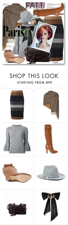 """I Love Paris In the Fall with PaoloShoes"" by paoloshoes ❤ liked on Polyvore featuring MaxMara, Weekend Max Mara, Carolina Herrera and Oscar de la Renta"
