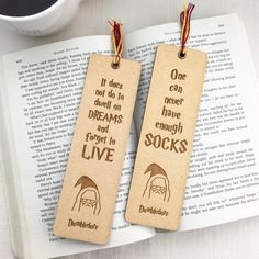 Your place to buy and sell all things handmade Back To School Supplies List, Diy School Supplies, Harry Potter School, Harry Potter Quilt, Dumbledore Quotes, Diy Bookmarks, Cnc Projects, Book Marks, Harry Potter Characters