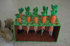 Fruit Crafts, Flower Crafts, Preschool Garden, Preschool Crafts, Autumn Crafts, Spring Crafts, Harvest Crafts, Diy And Crafts, Arts And Crafts