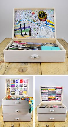 Memory box - photographing things you love but don't want to keep around as a decluttering solution
