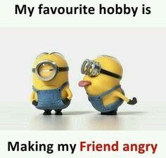 if you want laugh and make some smile on your face.We advise that you just read these Minions Memes men.These if you want laugh and make some smile on your face.We advise that just read these Minions Memes men. Funny Minion Pictures, Funny Minion Memes, Funny School Memes, Some Funny Jokes, Funny College, Minions Quotes, Best Friend Quotes Funny, Cute Funny Quotes, Really Funny Memes