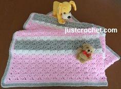 Free baby crochet pattern blanket usa