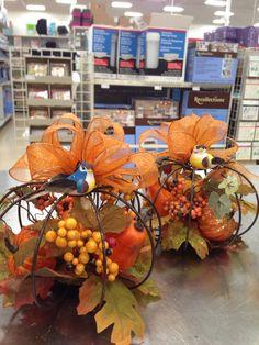 Fall Wire Pumpkins Quick Laura A Tulsa Michaels 3864