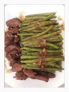 stir fried Beef with string Bean