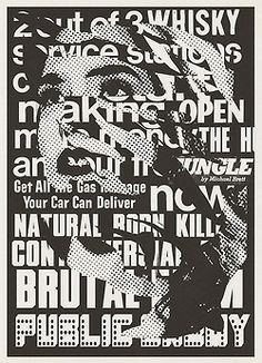xavier collet silkscreen art Typography Layout, Lettering, Graphic Design Typography, Graphic Design Trends, Graphic Design Inspiration, Gravure Illustration, Collages, Vintage Pop Art, Type Posters