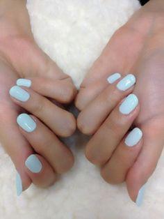 emilie dubay: Light Blue Nails #Lockerz