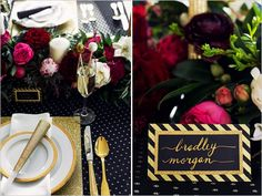 From: Wedding Chicks Photography: Jamie Lauren Photography Gorgeous ideas for a burgundy wedding palette!