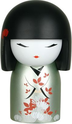 """Kimmidoll™ Akiko - 'Enlightenment' - """"My spirit is wise and knowledgeable. In everything you do and say, you show that you share my enlightened spirit. You value every experience as a source of knowledge and a way to wisdom. May the wisdom you gain through knowledge tested, always light your way."""""""