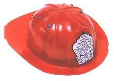 Children's Fireman Hat by Toysmith. $7.47. The Fireman's Hat by Toysmith is great fun for little make believers. This helmet has an adjustable interior to fit various sizes of little heads. It is simply a toy and not meant to provide any safety protection.