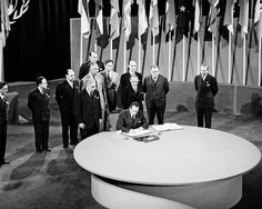 The San Francisco Conference, 25 April - 26 June 1945: Mexico Signs the United Nations Charter by United Nations Photo, via Flickr
