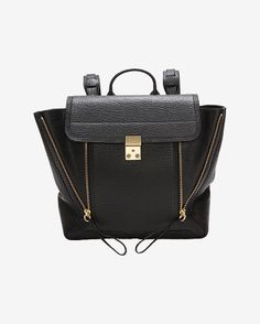 3.1 Phillip Lim Pashli Backpack: Black