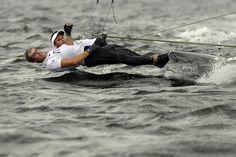 https://flic.kr/p/KZv3jC   APTOPIX Rio Olympics Sailing Men   Italy's Pietro Zucchetti, left, and teammate Ruggero Tita attend a training session of the 49er Men event during the 2016 Summer Olympics in Rio de Janeiro, Brazil, Sunday, Aug. 7, 2016. (AP Photo/Gregorio Borgia)