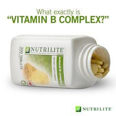 NUTRILITE: Natural B Complex. www.amway.com/jd2011