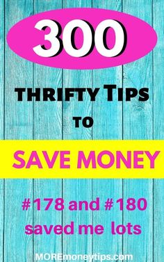 300 Frugal Living Tips To Save Money 2019 - More Money Tips Whether you're looking to save more money on food and groceries, transport, power, water or shopping Ways To Save Money, Money Tips, Money Saving Tips, Saving Ideas, Frugal Living Tips, Frugal Tips, Budgeting Finances, Budgeting Tips, Money Saving Challenge