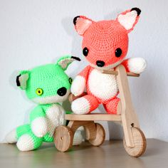 Fox crochet pattern free by The Crocheting Andreas