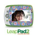 A traveling with kids must!  LeapFrog LeapPad3 Kids' Learning Tablet, Green