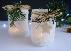 DIY Zimowe świeczniki, lodowe lampiony Christmas Room, Christmas Bulbs, Christmas Crafts, Merry Christmas, Xmas, Beautiful Christmas Decorations, Holiday Decor, Holidays And Events, Diy For Kids
