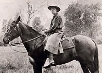Clare Marie Hodges, first female National Park Ranger, 1917