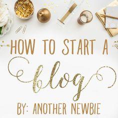 How to Start A Blog   ashandcrafts.com