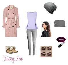 """""""Wintery Mix"""" by destinys-untold on Polyvore featuring Burberry, Steve Madden, Diane Von Furstenberg, women's clothing, women's fashion, women, female, woman, misses and juniors"""