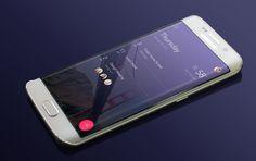 Samsung Galaxy S6 Edge free Mockup
