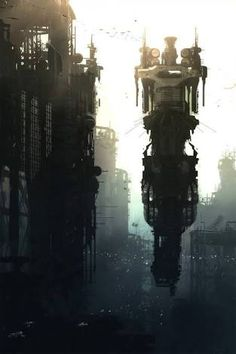 「science fiction tower」の画像検索結果