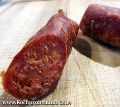 Chorizo - homemade Spanish sausage – Famous Last Words Spanish Sausage, German Sausage, Best Sausage, Homemade Chorizo, Homemade Sausage Recipes, Bratwurst, How To Make Sausage, Food To Make, Charcuterie