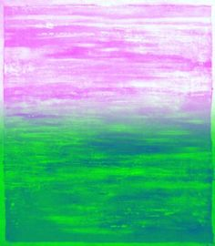 #Tropical Morning #Pink & #Green Fusion Limited Edition Print #interiordesign #art #painting