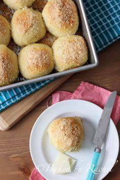 Parmesan and Onion Dinner Rolls