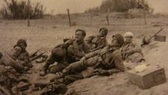 German paratroopers in Crete. 1941.